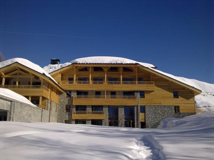 Construction Hôtel Isère Alpenrose