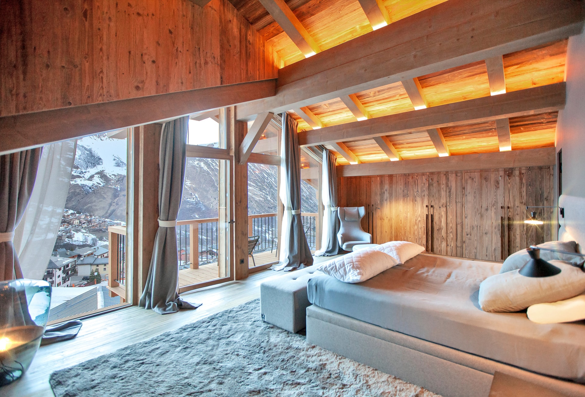 CHALET QUEBEC_Chambre Master