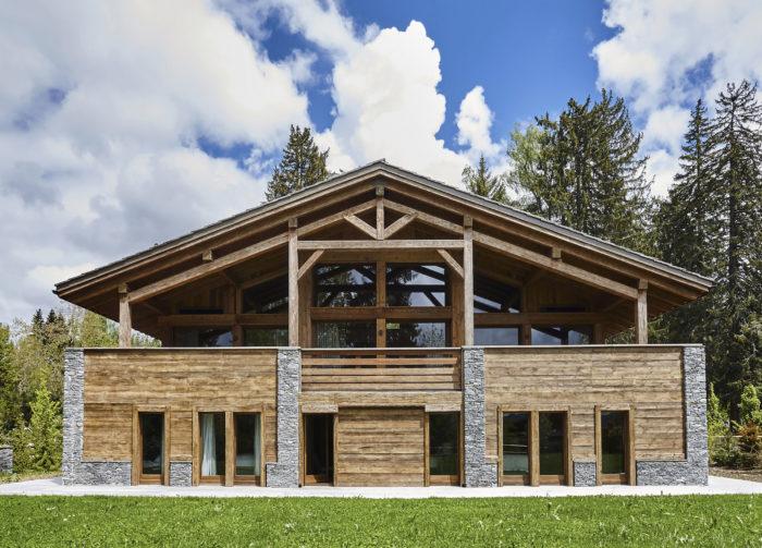Construction Chalet à Megève Bois neuf les parcs du mont d'Arbois 2