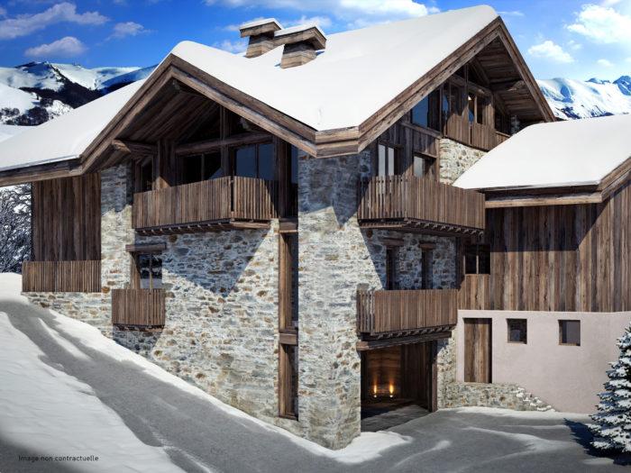 Réhabilitation bâtiment existant : Les belleville Roc de  la Lune