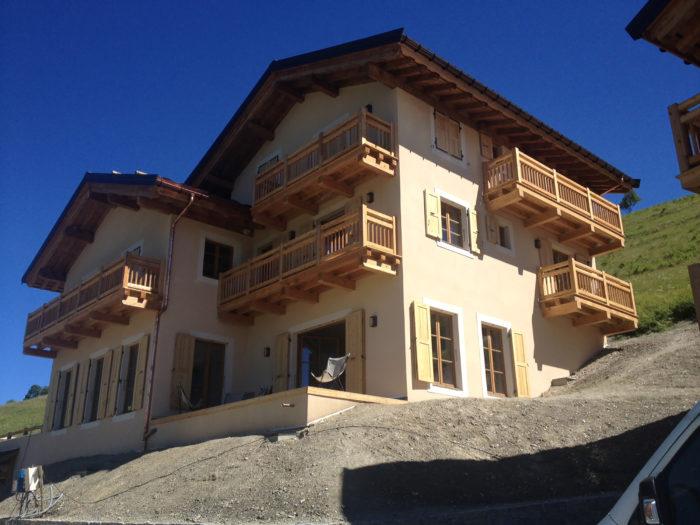 Construction Chalet les Belleville Beranger – Chalet B